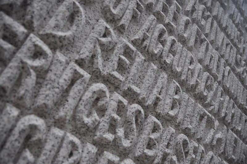 London - at the Reuter memorial