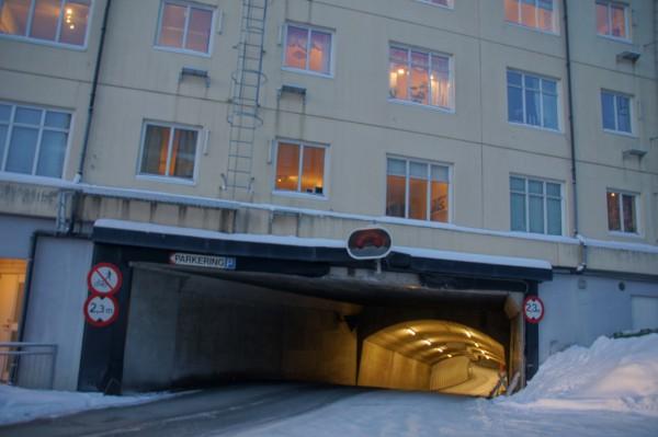 Entrance Tromso Tunnels